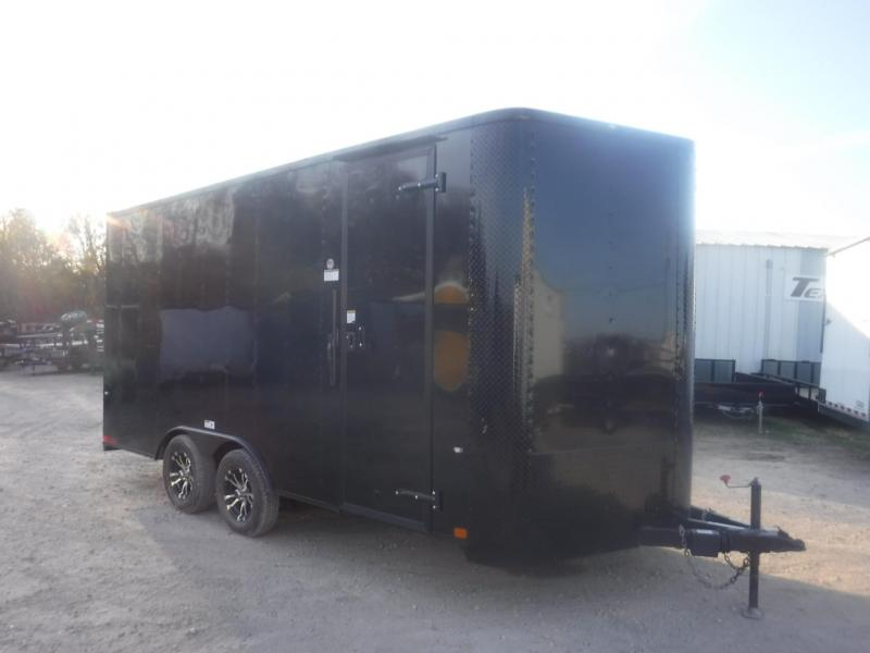 2019 Cargo Craft 8.5 x 16 Elite-V Enclosed Cargo Trailer