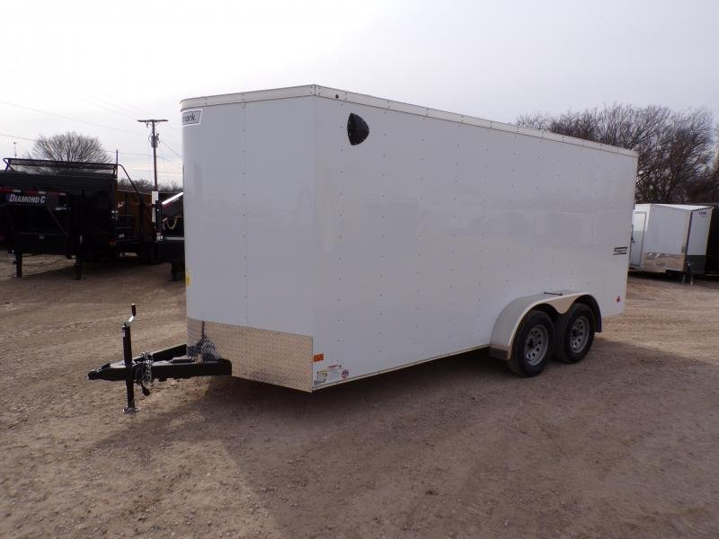 2019 Haulmark 7 x 16 Passport Deluxe Enclosed Cargo Trailer