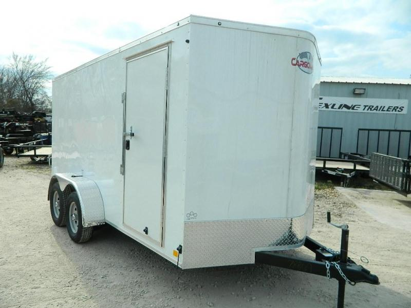 2018 Cargo Mate 7 x 14 TXLV TA Enclosed Cargo Trailer