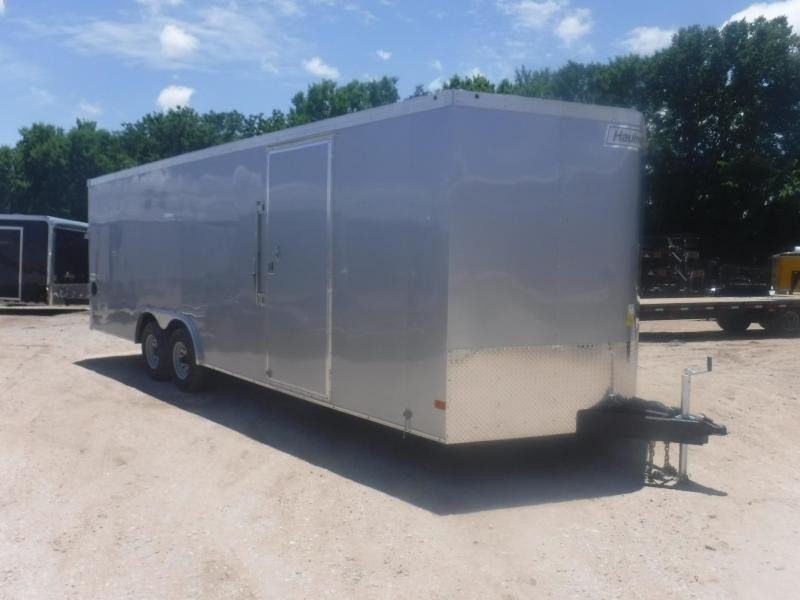 2019 Haulmark 8.5 x 24 V-Nose Transport Enclosed Cargo Trailer
