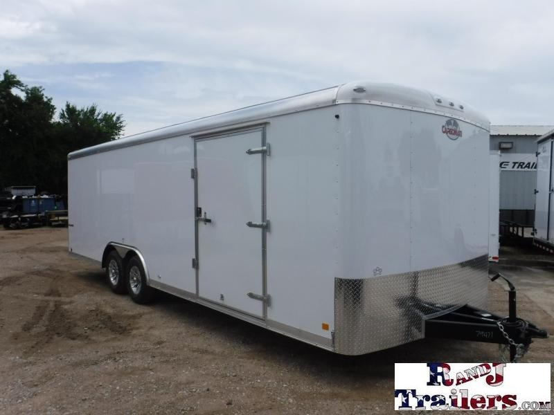2018 Cargo Mate 8.5 x 24 Qualifier Enclosed Cargo Trailer