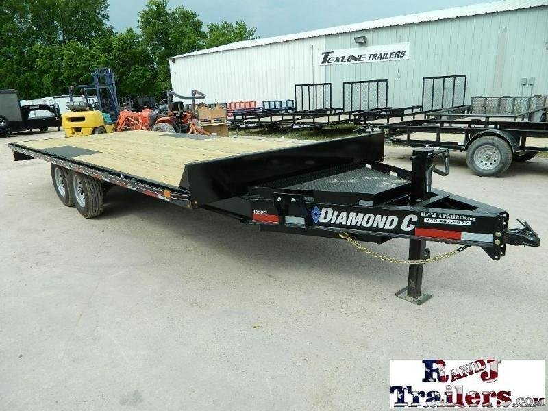 2019 Diamond C Trailers 13DEC Equipment Trailer