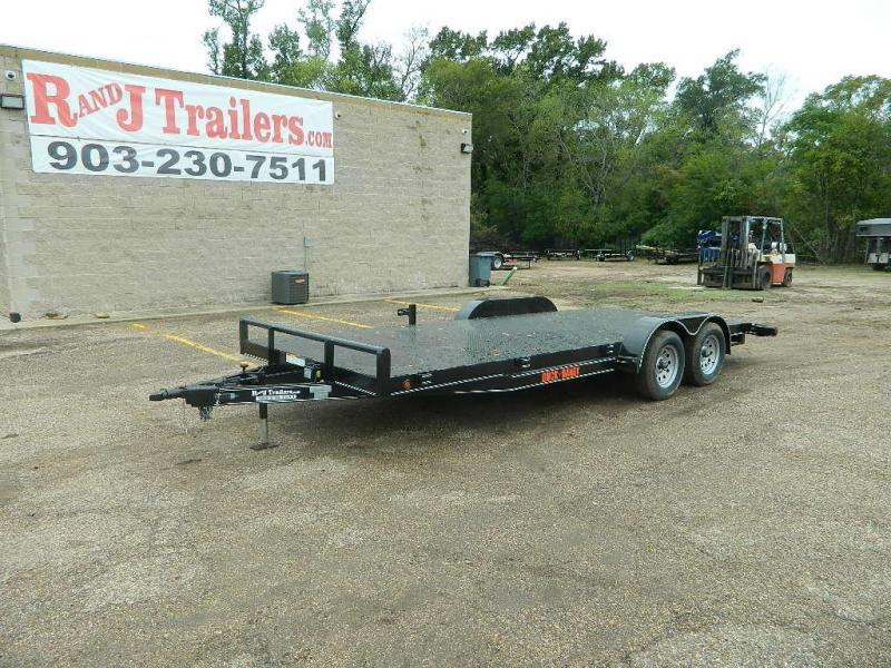 2019 Buck Dandy 83x18 Car / Racing Trailer