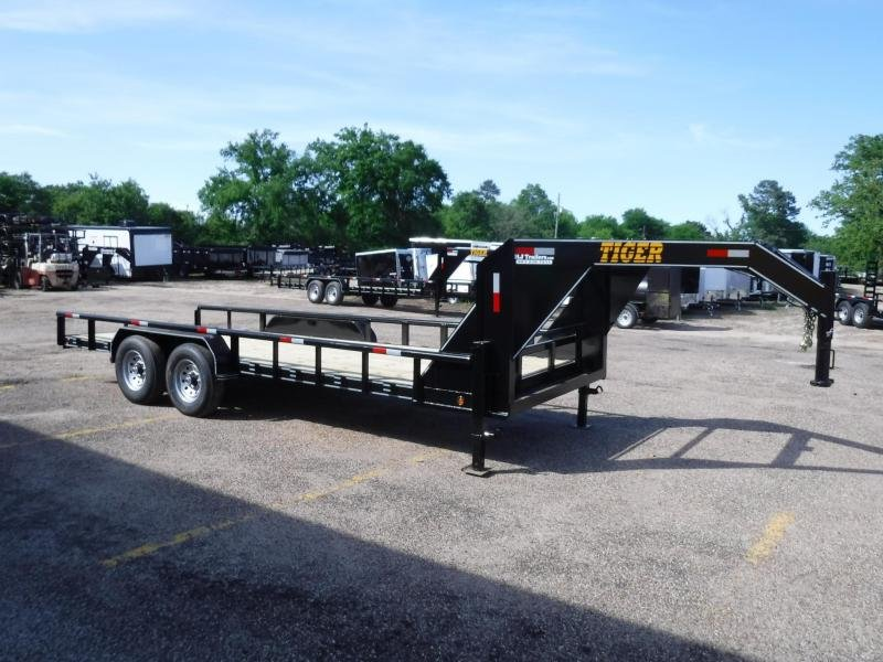 2019 Tiger 83 x 20 Bobcat Gooseneck Equipment Trailer