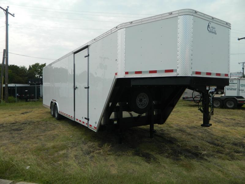 2019 Cargo Craft 8.5 x 36 Gooseneck Enclosed Cargo Trailer
