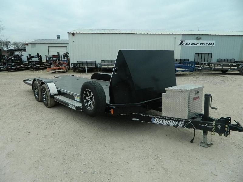 2017 Diamond C Trailers 82x22 11FBDT Car / Racing Trailer