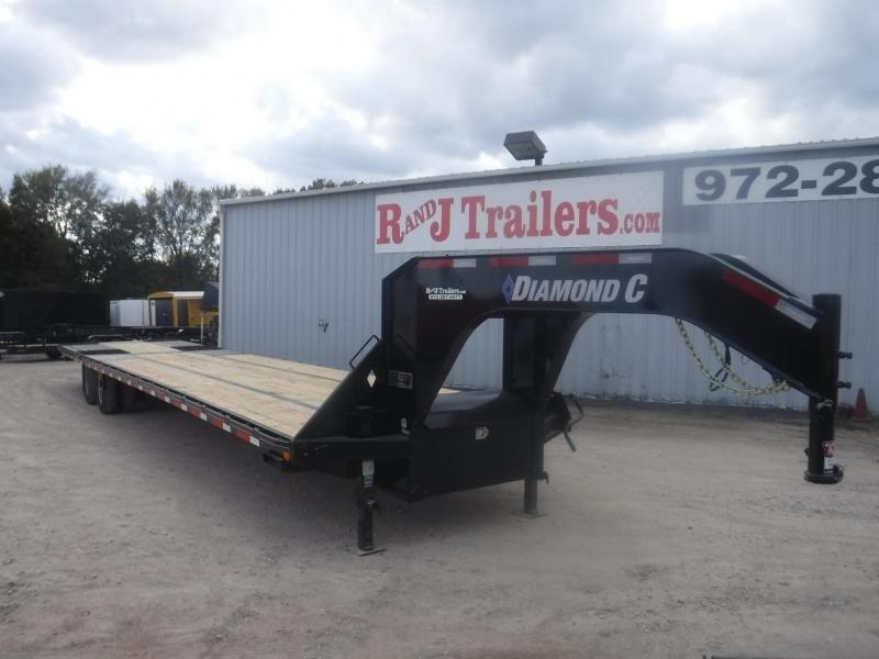 2019 Diamond C Trailers 102 x 40 Fmax210 Equipment Trailer