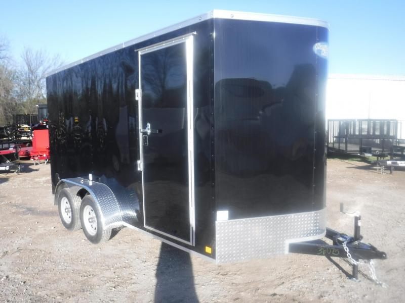 2019 Continental Cargo 7 x 14 LVV TA Enclosed Cargo Trailer