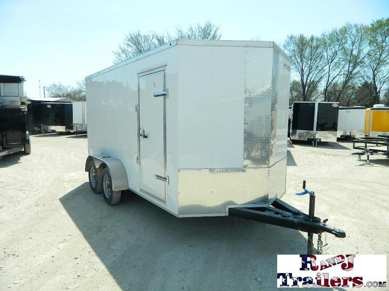 2018 Salvation Trailers 7 x 14 Elite V-Nose Enclosed Cargo Trailer