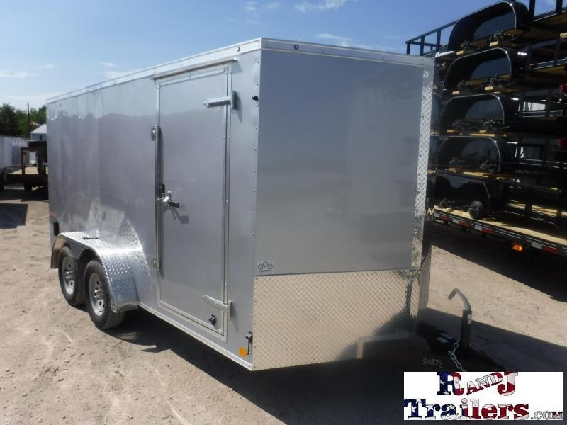 2019 Cargo Mate 7 x 14 TA E-Series Enclosed Cargo Trailer