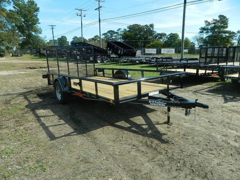 2018 Buck Dandy 77x14 Utility Trailer