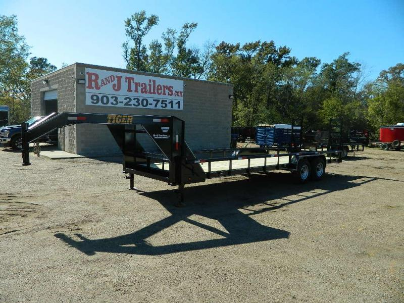 2018 Tiger 83x24 Gooseneck Equipment Trailer