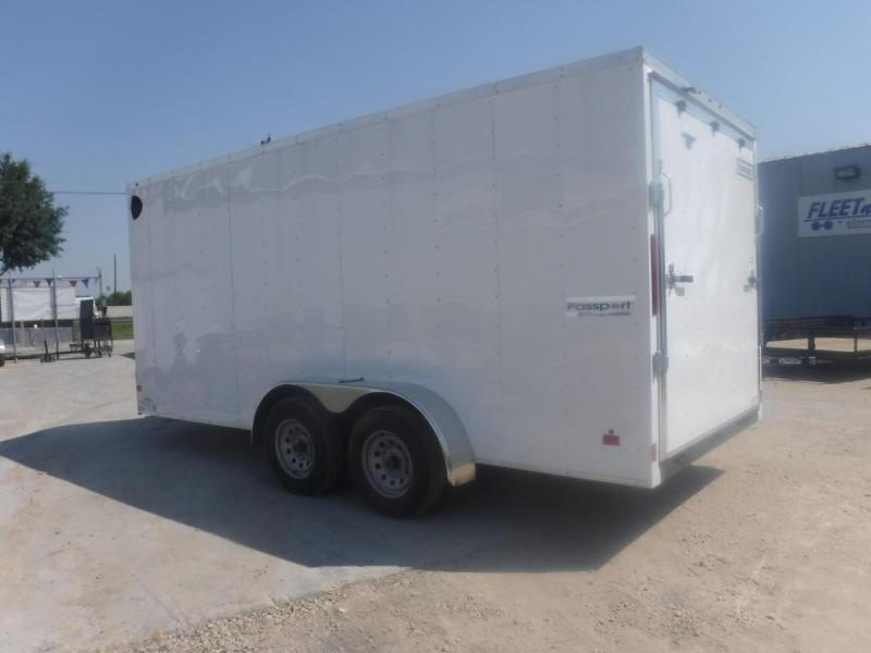 2019 Haulmark Passport 7 x 16 Enclosed Cargo Trailer