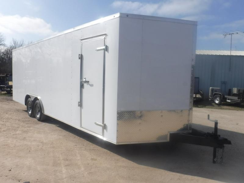 2019 R and J Trailers Inc 8.5 x 24 V-Nose Enclosed Cargo Trailer