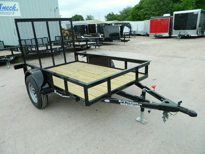 2018 TexLine 5 x 8 Patriot Utility Trailer