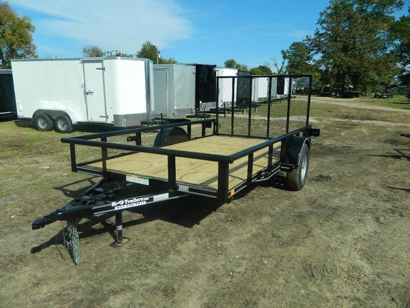 2018 Buck Dandy 77x12 Utility Trailer
