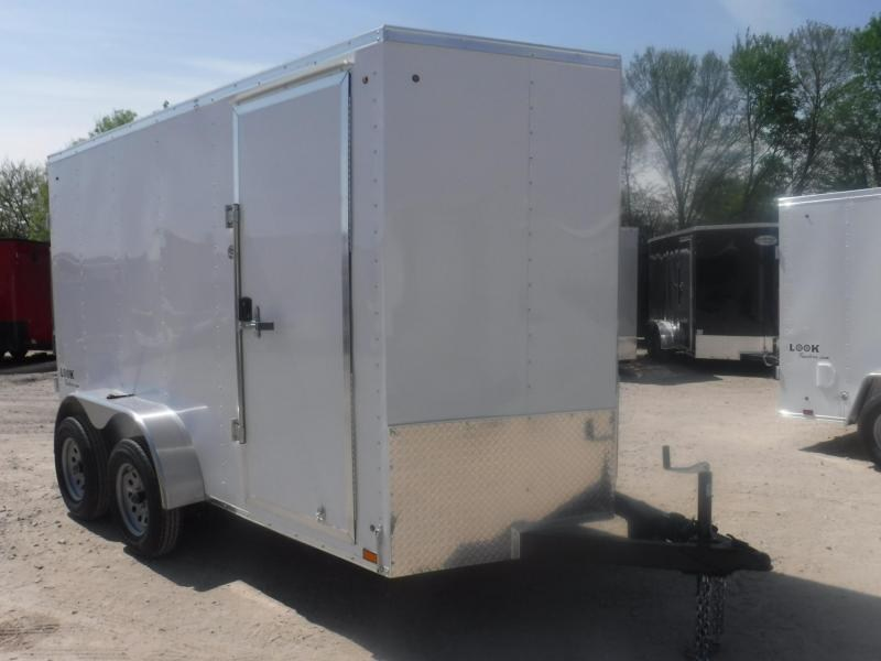 2019 Look Trailers 6 X 12 TA Element Enclosed Cargo Trailer
