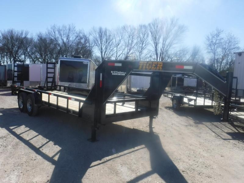 2019 Tiger 83 x 20 Gooseneck Equipment Trailer