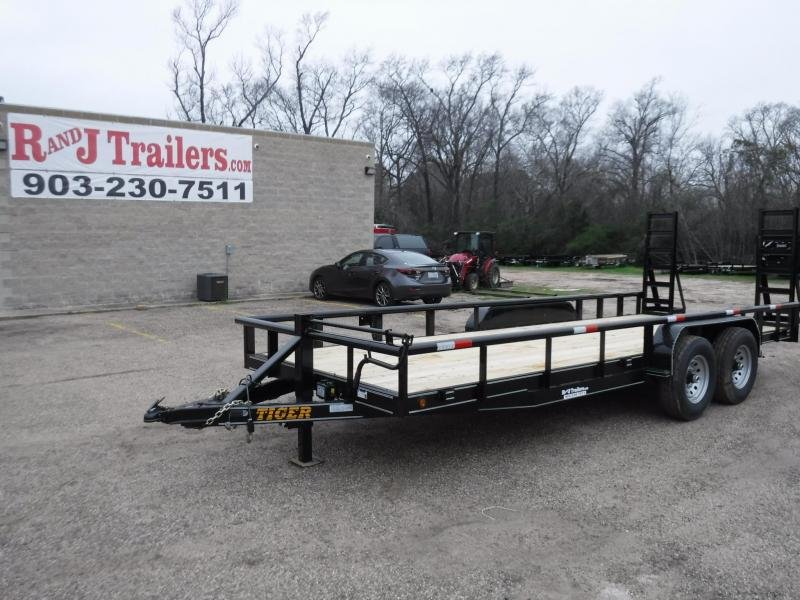2019 Tiger 83 x 20 Bobcat Equipment Trailer