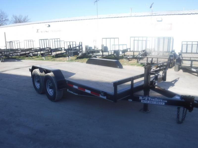 201 TexLine 83 x 18 Bobcat Equipment Trailer