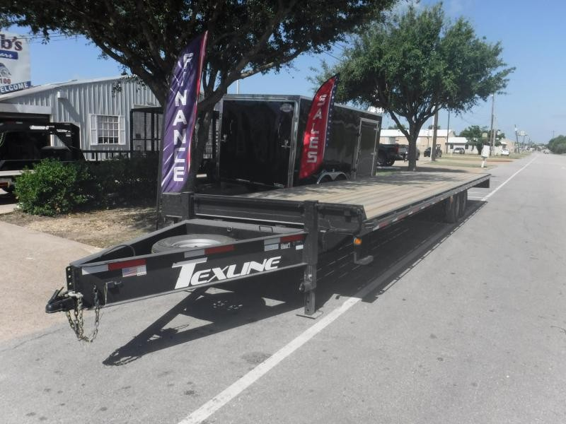 2018 TexLine 102 x 34 Deckover Equipment Trailer