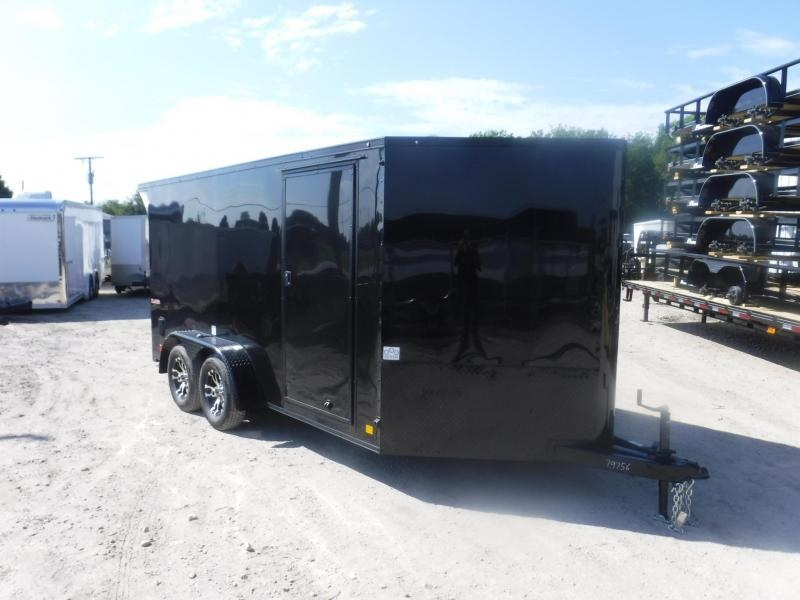 2019 Cargo Mate 7 x 14 Low Hauler Motorcycle Trailer