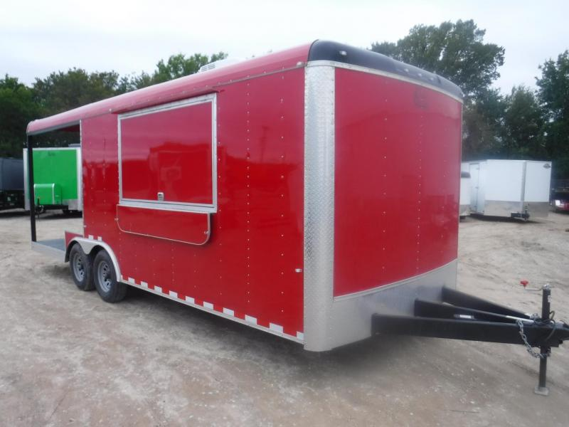 2019 Cargo Craft 8.5 x 22 Blazer Vending / Concession Trailer