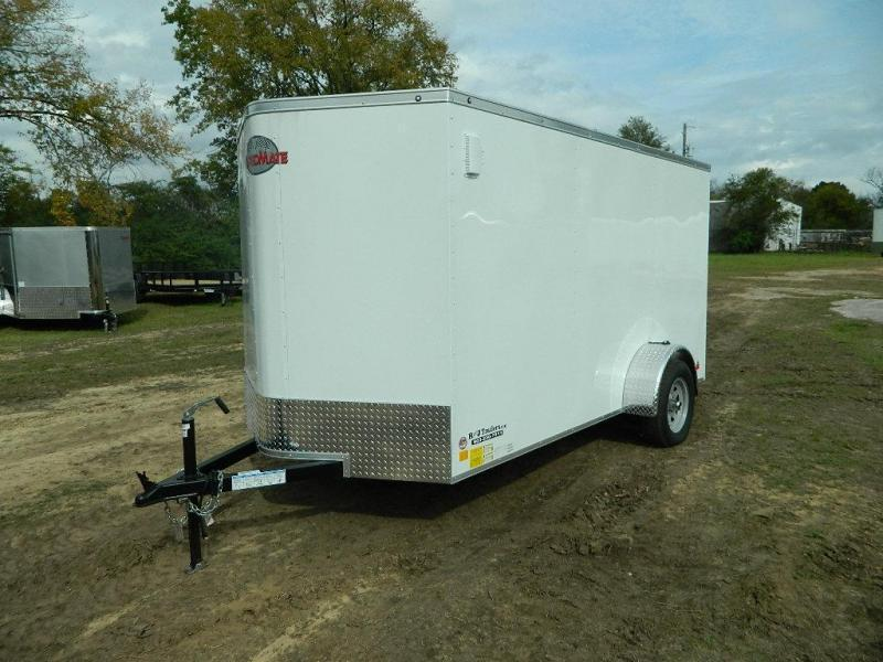 2019 Cargo Mate 6 x 12 TXLV Enclosed Cargo Trailer
