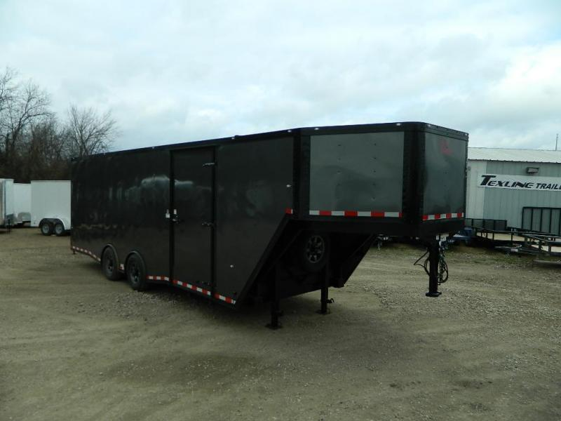 2018 Cargo Craft 8.5 x 32 Expedition V-Nose Enclosed Cargo Trailer