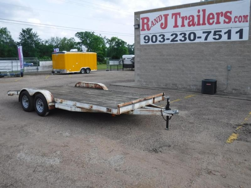 1995 Parker Trailers 83 x 18 Car / Racing Trailer