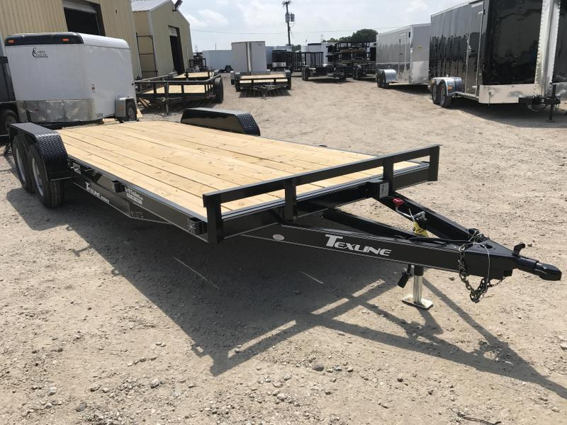 2019 TexLine 83 x 20 Deluxe Car / Racing Trailer