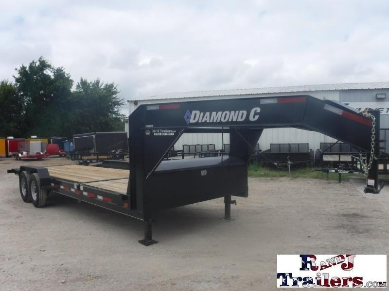 2018 Diamond C Trailers 82 x 24 45HDT Equipment Trailer