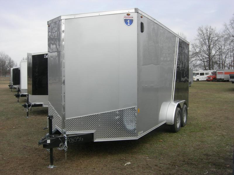 2019 Interstate IFC716TA2 Enclosed Cargo Trailer