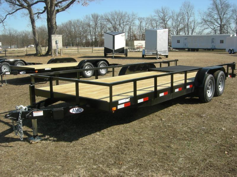 2019 American Trailers UC8220TA10K Equipment Trailer