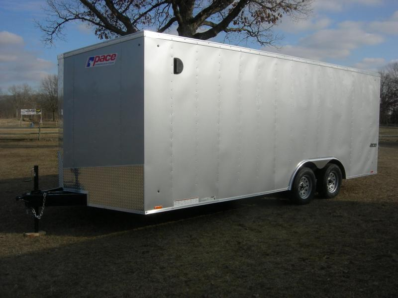 2019 Pace American JV85x20TE2 Enclosed Cargo Trailer