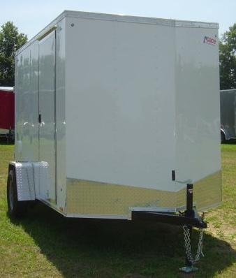 2018 Pace American 6X10 Deluxe Cargo / Enclosed Trailer