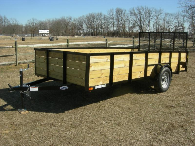 2019 American Trailers US7614HS Utility Trailer