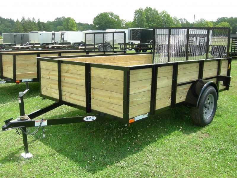 2019 American Manufacturing Operations (AMO) US76x10HS Utility Trailer