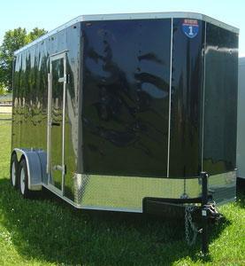 Interstate SFC5X10SA V-Nose Enclosed Cargo Trailer