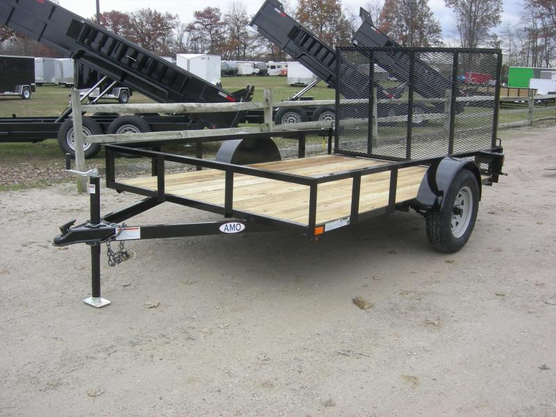 2019 American Manufacturing Operations (AMO) US101 Utility Trailer