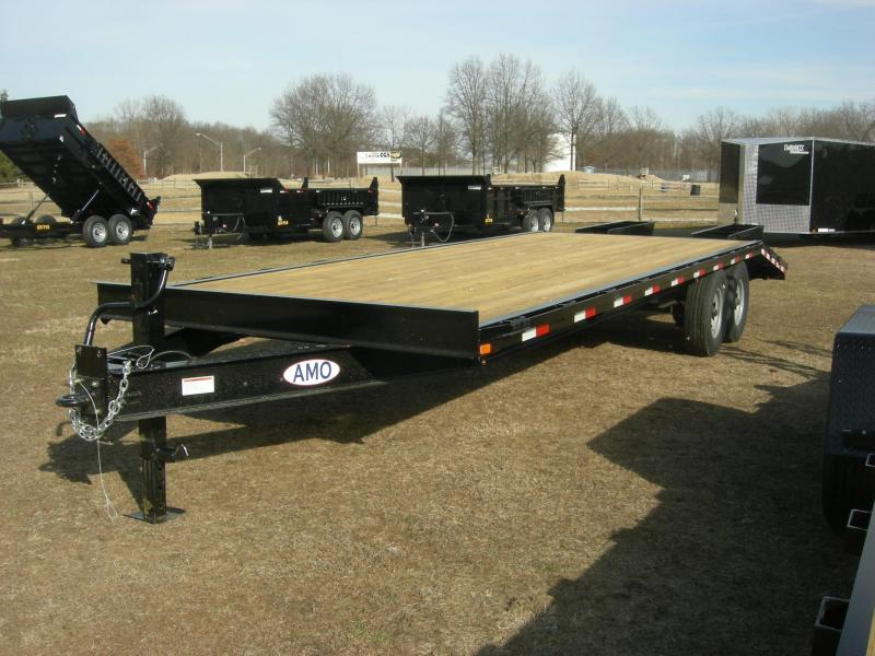 2019 American Trailers UG202 Equipment Trailer