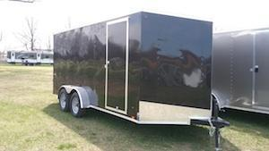 Look STLC6X12DLX Enclosed Cargo Trailer
