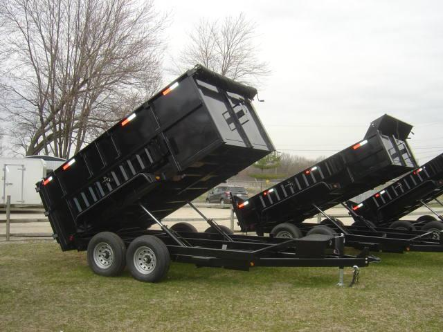 Griffin 7 X 18 14K High Side Dump Trailer
