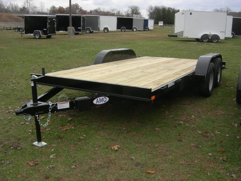 2018 American Manufacturing Operations (AMO) UT162 Car / Racing Trailer