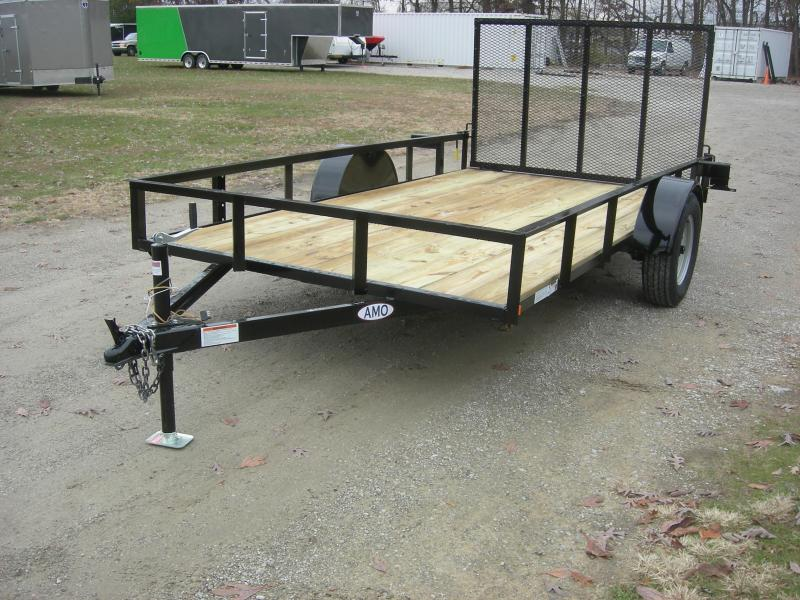 2019 American Manufacturing Operations (AMO) US121 Utility Trailer
