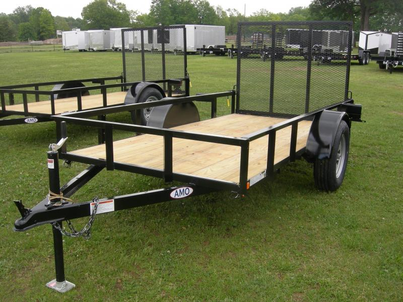 2019 American Manufacturing Operations (AMO) US76x10LS Utility Trailer