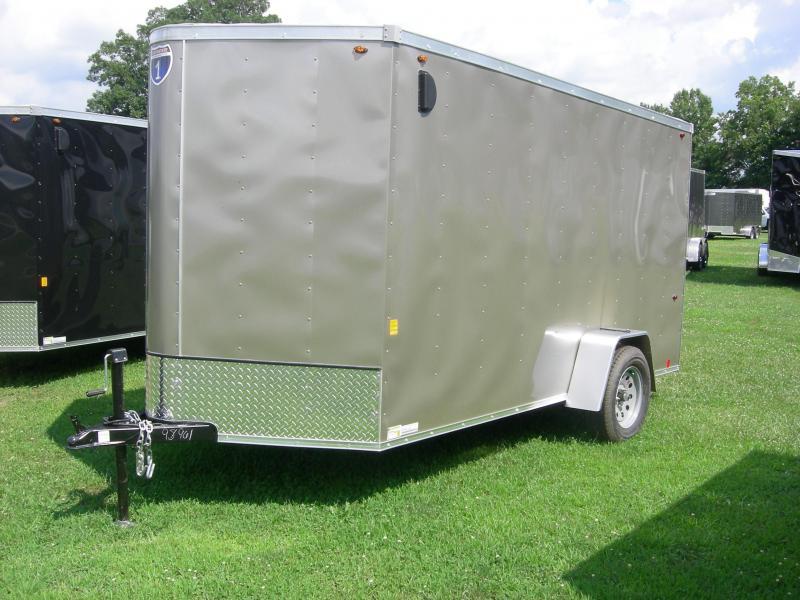 2020 Interstate SFC6x12SAFS Enclosed Cargo Trailer