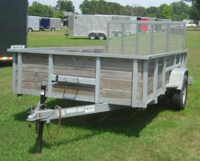 2006 American Manufacturing Operations (AMO) UT121-6X12-HS Utility Trailer