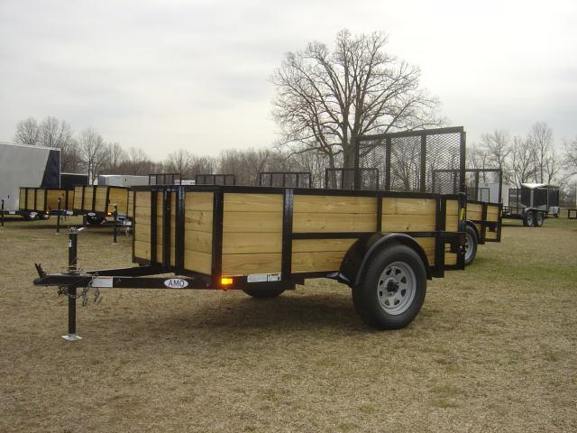 American Mfg. Highside 3.5K Utility Trailer
