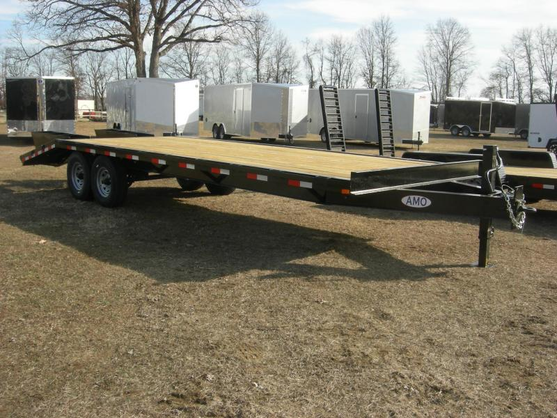 2019 American Trailers UW252 Equipment Trailer